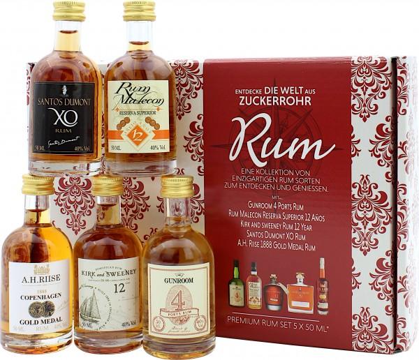 Rum Premium Verkostungsset