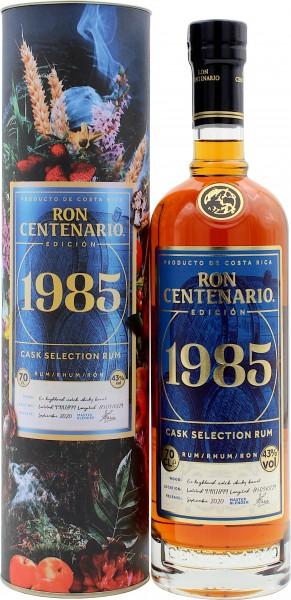Ron Centenario Rum Edicion 1985 Highland Whisky Cask Collection