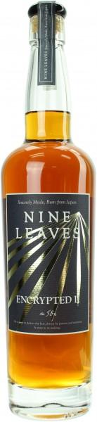 Nine Leaves Rum Encrypted MK2 (Japan) 58.0% 0,7l