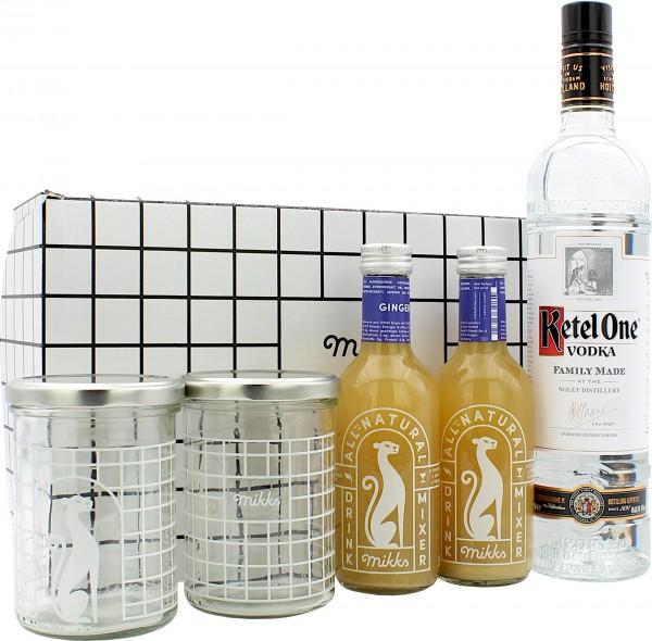 Mikks Ginger Mule Set mit Ketel One Vodka
