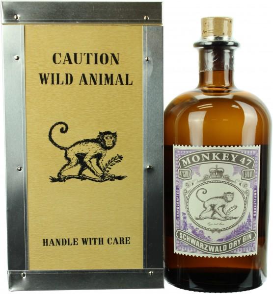 Monkey 47 Schwarzwald Dry Gin in der Holzbox 47.0% 0,5l
