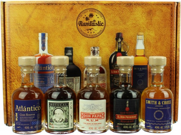 Sierra Madre Rumtastic Rum Tasting Selection 43.4% 5x40ml
