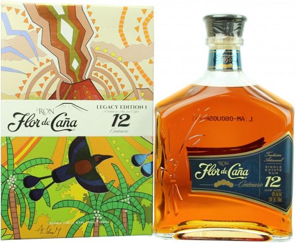 Flor de Cana 12 Jahre Centenario Rum Legacy Edition 40.0% 1 Liter