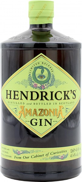 Hendricks Gin Amazonia Limited Release