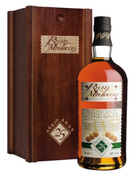 Malecon Reserva Imperial Rum 25 Jahre Holzbox 40.0% 0,7l