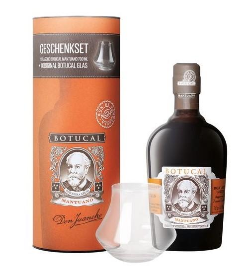 Ron Botucal Mantuano Geschenkset mit Glas
