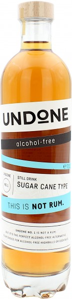UNDONE This is NOT Rum No.1 Sugar Cane Type