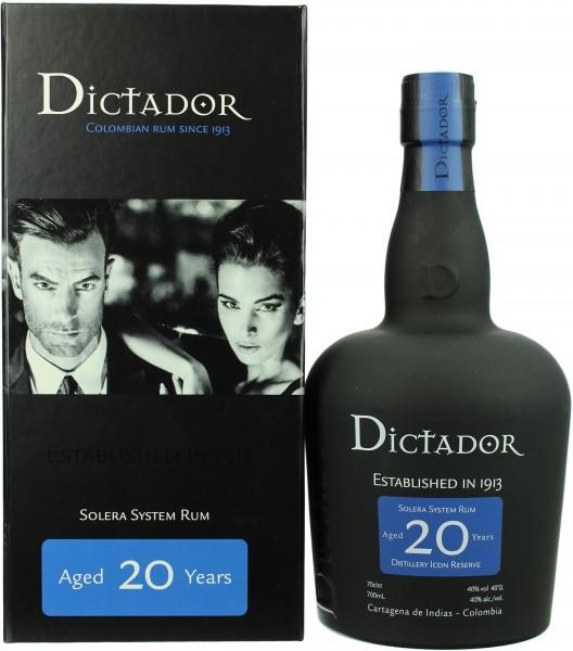 Dictador Rum Solera 20 Jahre