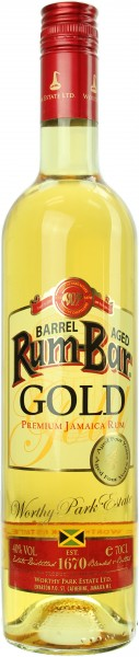 Rum-Bar Worthy Park Estate Gold Jamaica Rum 4 Jahre 40.0% 0,7l