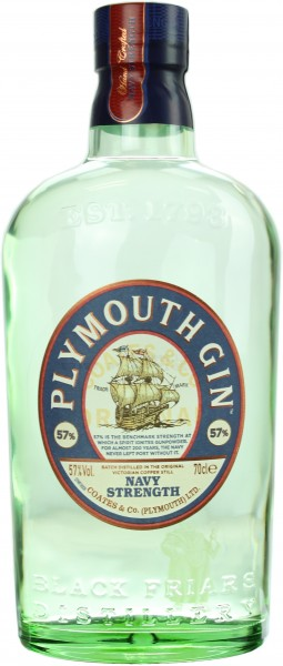 Plymouth Navy Strength Gin 57.0% 0,7l