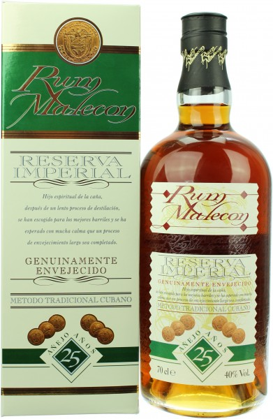 Malecon Reserva Imperial Rum 25 Jahre