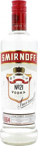 Smirnoff Red Label No.21