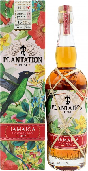 Plantation Rum Jamaica 17 Jahre 2003/2020 One-Time Limited Edition