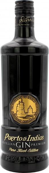 Puerto De Indias Dry Gin Pure Black Edition