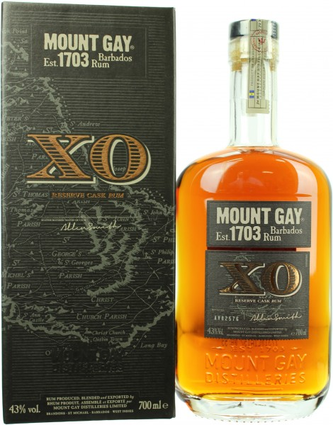 Mount Gay XO 43.0% 0,7l