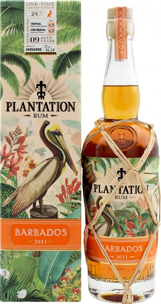 Plantation Rum Barbados 9 Jahre 2011/2020 One-Time Limited Edition