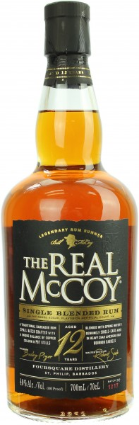The Real McCoy Rum 12 Jahre 40.0% 0,7l