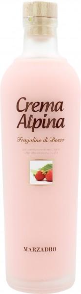 Marzadro Crema Alpina Fragola Erdbeerlikör