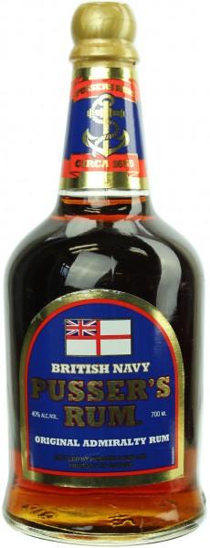 Pusser's British Navy Rum 40.0% 0,7l